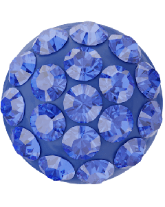 Swarovski 86601 Pavé-halvperle, 8 mm, Majestic Blue