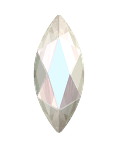 Swarovski 2201 Marquise, Crystal AB, 8 x 3,5 mm, 10 stk.