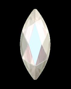 Swarovski 2201 Marquise, Crystal AB, 14 x 6 mm, 1 stk.