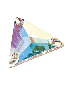 Preciosa Triangle 22 mm, Crystal AB