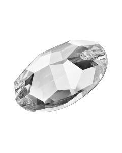 Preciosa Oval 601, Crystal