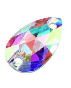 Preciosa Pearshape 18 x 10,5 mm, Crystal AB