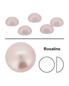 Preciosa flatbackperle 3 mm, Rosaline