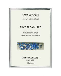 Swarovski Tiny Treasures - Tanzanite Shimmer