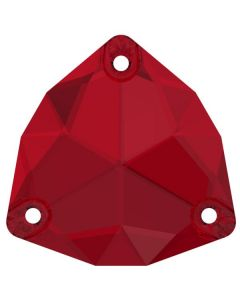 Swarovski 3272 Trilliant 16 mm, Scarlet