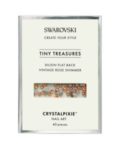 Swarovski Tiny Treasures - Vintage Rose Shimmer