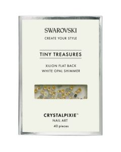 Swarovski Tiny Treasures - White Opal Shimmer