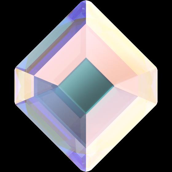 Swarowski 2777 Concise Hexagon 5 mm, Crystal AB, 10 stk.