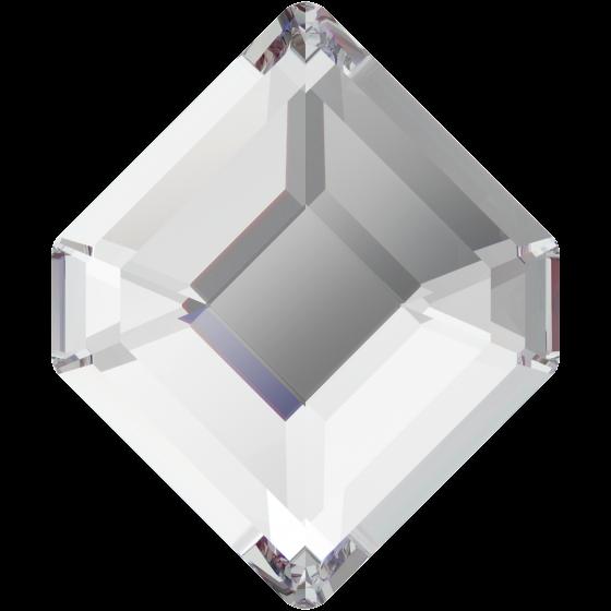 Swarowski 2777 Concise Hexagon 10 mm, Crystal, 1 stk.